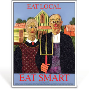 Eat Smart - Eat Local - nutrition education poster